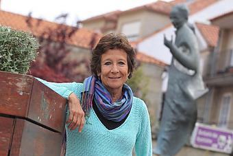 Ángeles Maestro, porta-voz da organización Rede Vermella