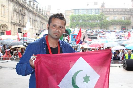 """Mohamed Reda Ben Zaza, Porta-voz do Hirak:   """"A posición da UE ante a represión no Rif é de total covardía"""""""