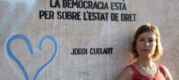 """Laia Serra: """"Todos os estamentos do estado converxen na hora de reprimir, porque teñen un interesse común"""""""