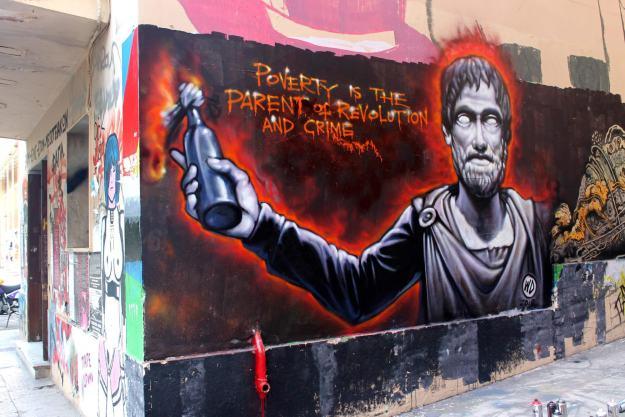 Anarquista anónimo A nova guerra contra imigrantes e anarquistas em Grécia