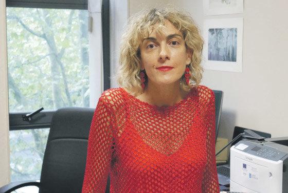 """Ana López-Suevos:  """"Moitos delitos sexuais non se denuncian por medo ao proceso xudicial"""