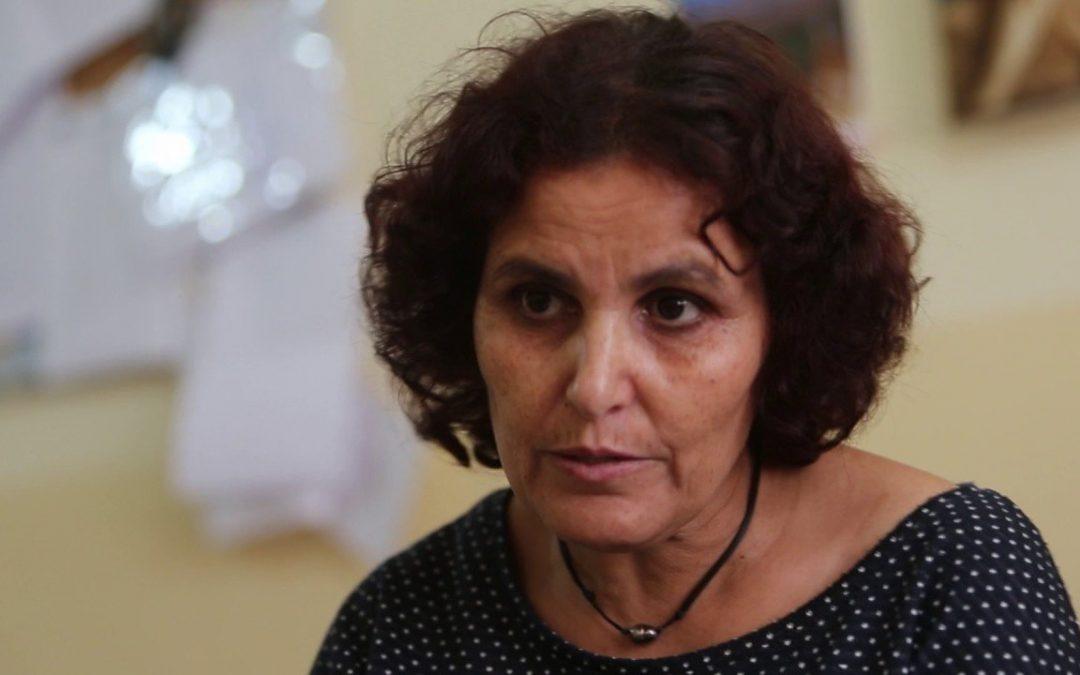 """Zhora Koubia, Presidenta da Asociación Foro de Mulleres do Rif: """"No Rif todo está controlado, é imposíbel manifestarse"""""""