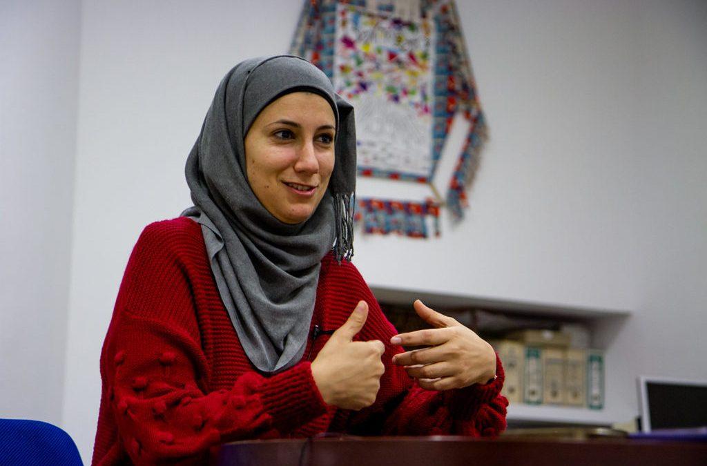 """Layali Zahran:  """"O noso obxectivo principal é mudar as leis inxustas da Palestina"""""""