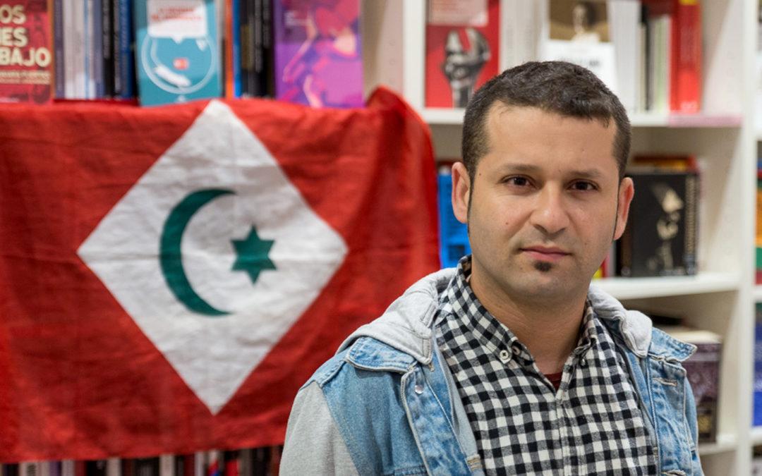 """Reda Benzaza, porta-voz do Movemento Popular do Rif  """"O pobo rifeño quer separarse da inxustiza e o terror a que o somete o Marrocos"""""""