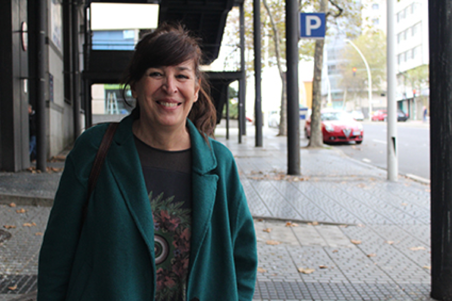 Rebeca Quintáns:  «Felipe é igual que Juan Carlos, defende os privilexios do mesmo grupo»