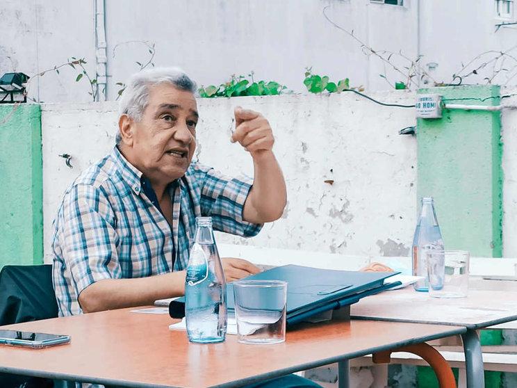"""Fayez Badawi, porta-voz en Europa da FPLP:  """"O que fai Israel é unha limpeza étnica"""""""